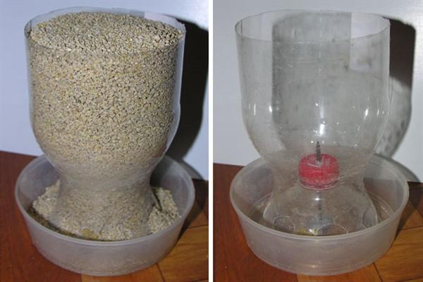Как изготовить кормушку из пластиковой бутылки