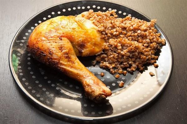 Калории гречки с курицей