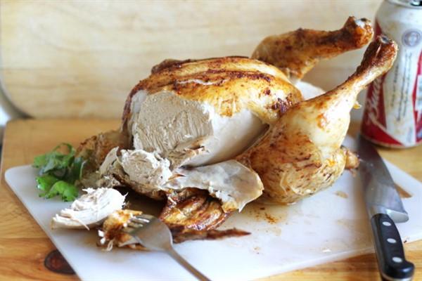 Калорийность курицы в духовке