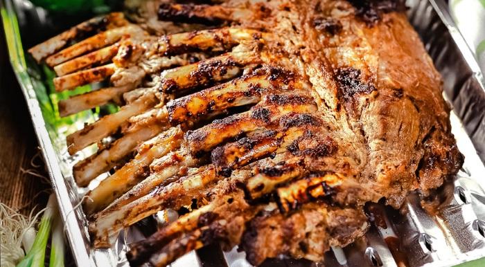 Сочное, ароматное баранье мясо
