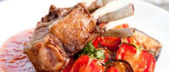Приготовить блюда из баранины