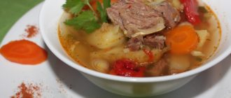 Шурпа из баранины – традиционные рецепты