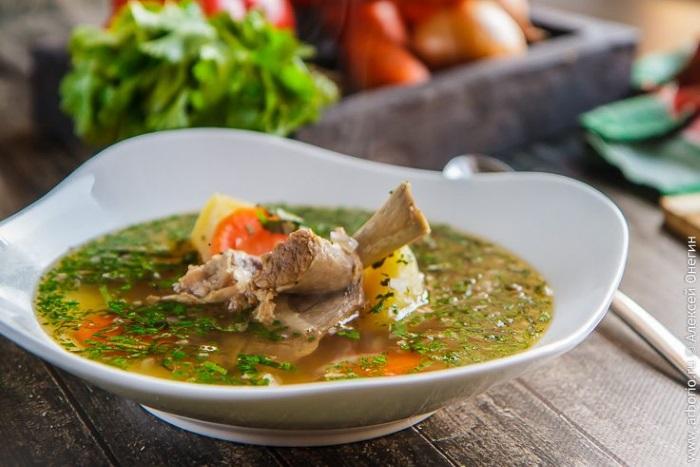 Супы с бараниной