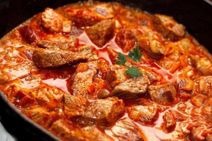 Известное вкусное мясное блюдо