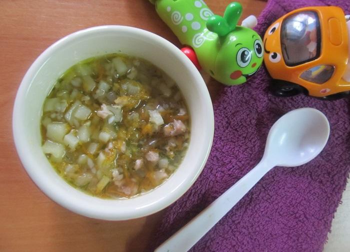 Суп из кролика для самых маленьких