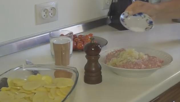 Запеканка из мяса и картошки в духовке 1