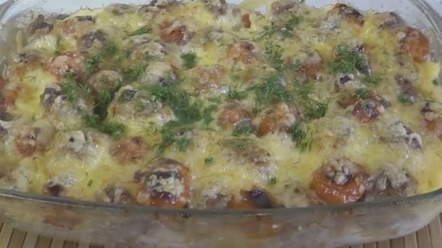 Запеканка из мяса и картошки в духовке 6