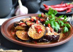 Баклажаны по-грузински самый вкусный рецепт быстрого приготовления