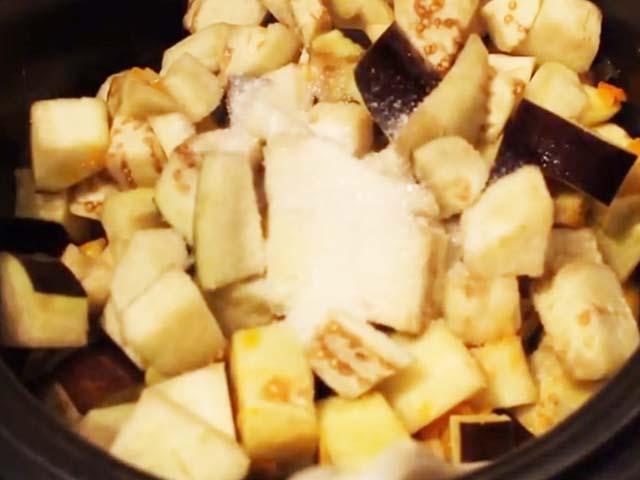 Рецепт приготовления икры на зиму из баклажан в мультиварке 5