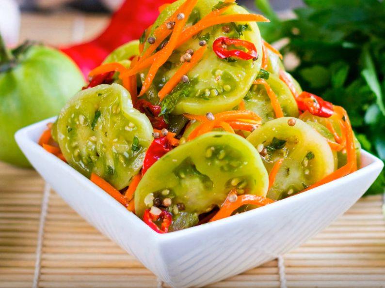 Помидоры по корейски быстрого приготовления – самые вкусные рецепты