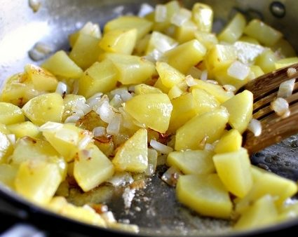 картофель поперчить