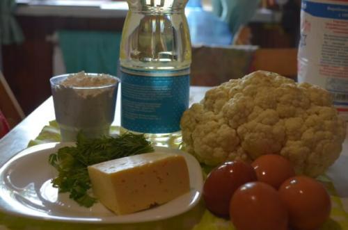 Вкуснейшая цветная капуста в кляре с сыром