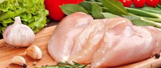 Сколько варить куриное филе до готовности