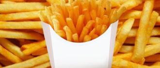 Картофель фри в духовке самый вкусный рецепт