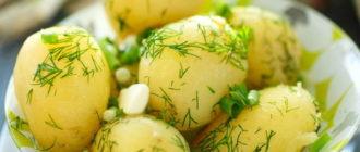 сколько варить молодую картошку