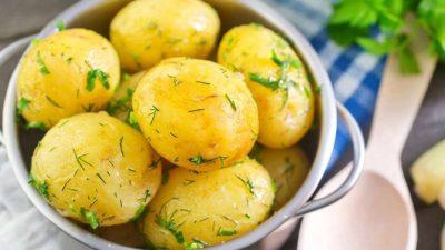 Сварить молодую картошку