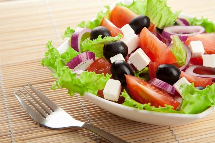 Греческий салат с брынзой рецепт классический