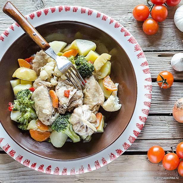 Пошаговый фото-рецепт приготовления курицы 12