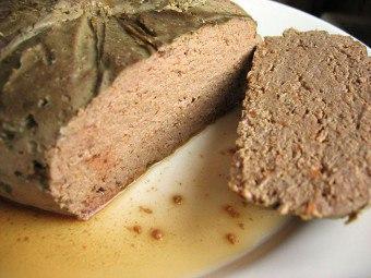 Рецепт паштета из свиной головы в автоклаве