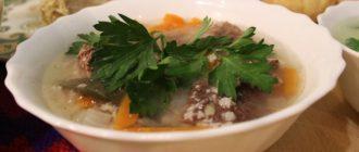 Способ приготовления супа