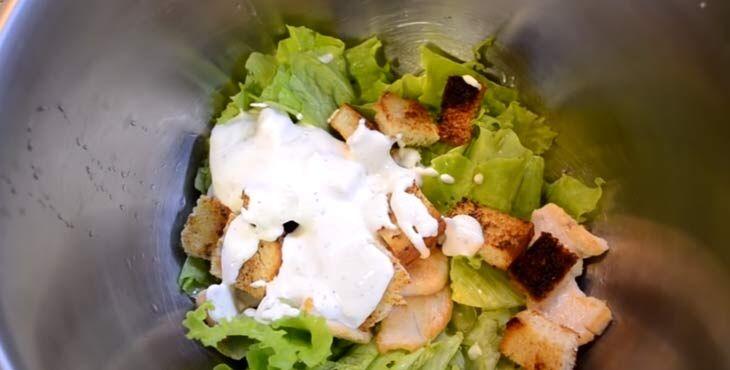 Приготовление салата 8