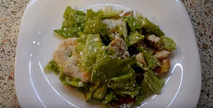 Приготовление салата 9
