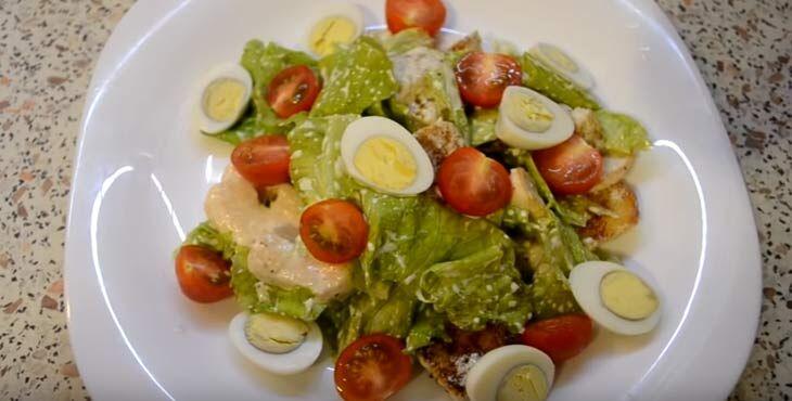 Приготовление салата 10