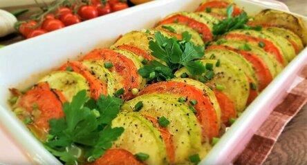 Блюда из кабачков – рецепты вкусные и быстрые